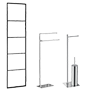 Rack with holder, Wall towel holder