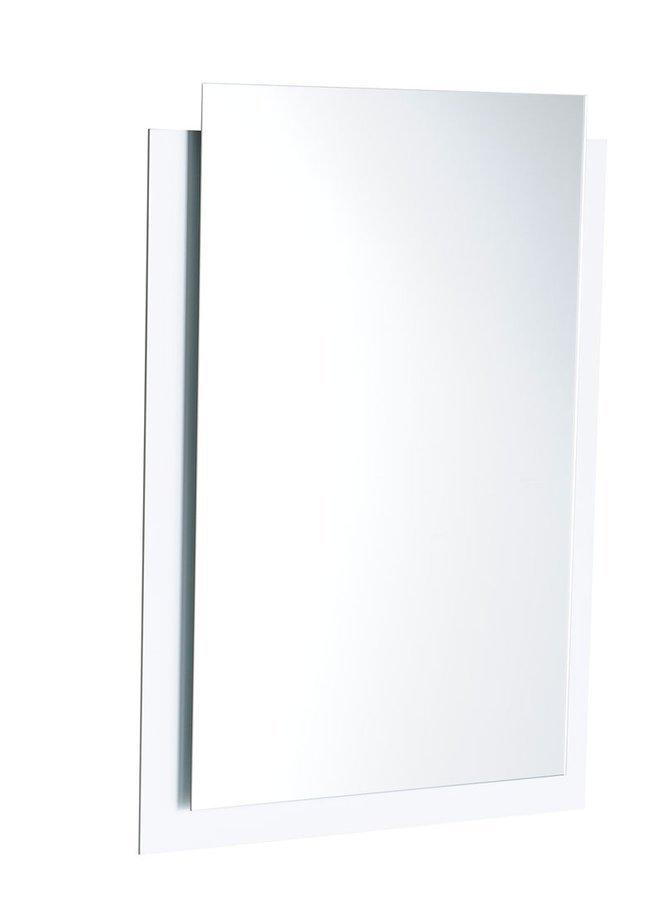 EMA LED podsvícené zrcadlo s přesahem 500x700mm, bílá