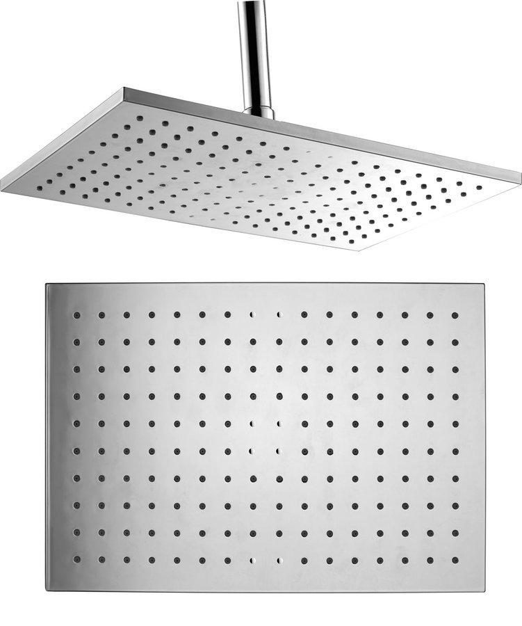 Hlavová sprcha, 200x300mm, ABS/chrom