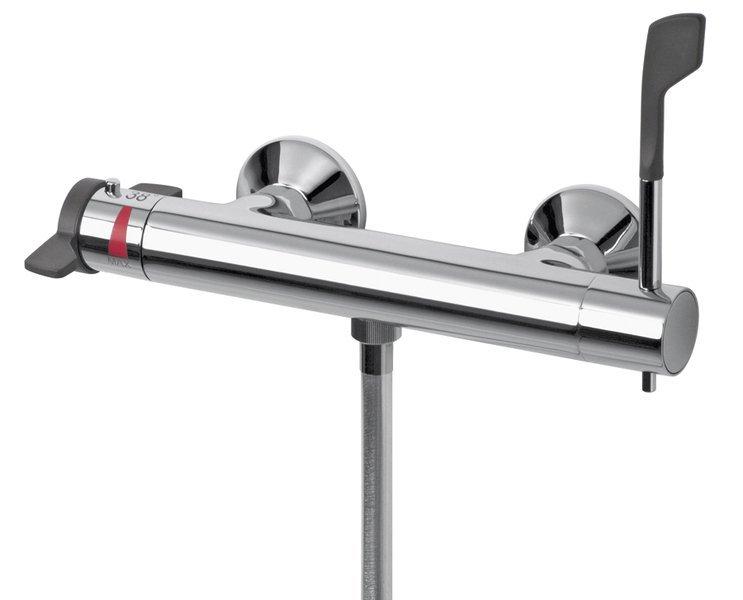 LEA nástěnná sprchová termostatická baterie pro tělesně postižené,chrom (MR90155