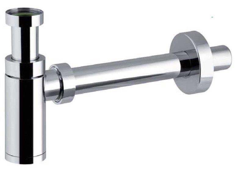 KING umyvadlový sifon 1'1/4, odpad 32 mm, ABS chrom