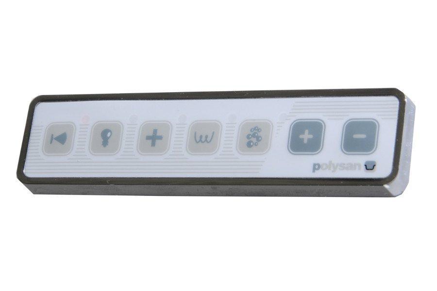 HM systém KOMBI LUX, ovládání Typ A - Elektronické