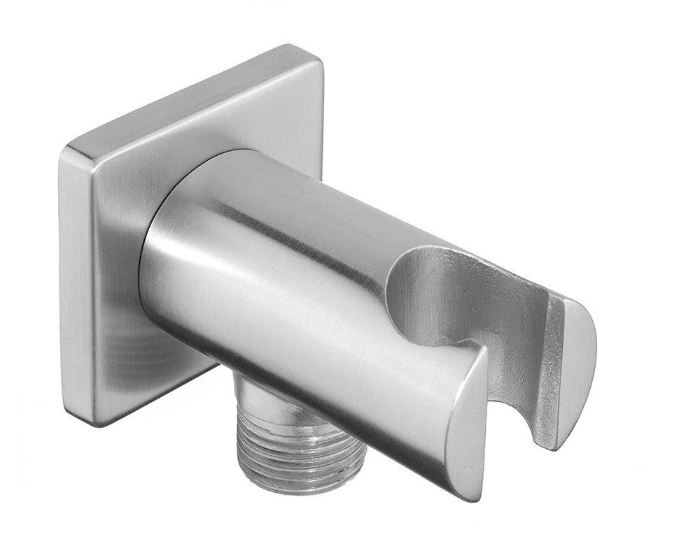 MINIMAL držák sprchy s vyústěním, nerez