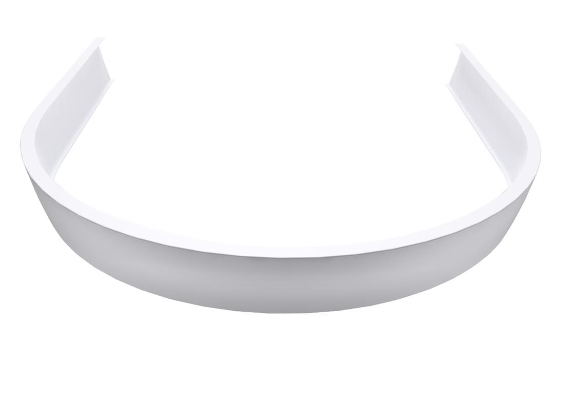 ISA 90 čelní panel, bílá