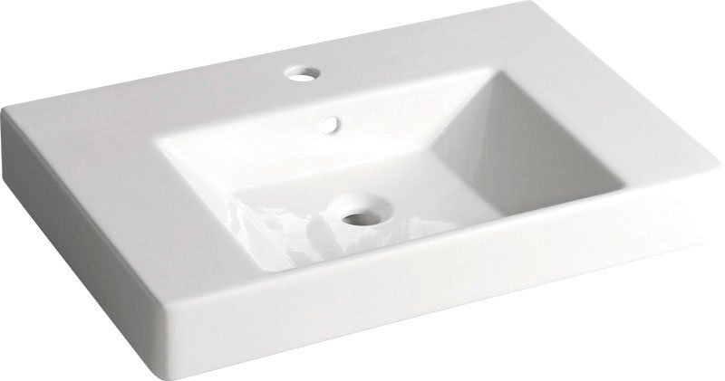 SISTEMA V keramické umyvadlo 70x45cm (PURITY)
