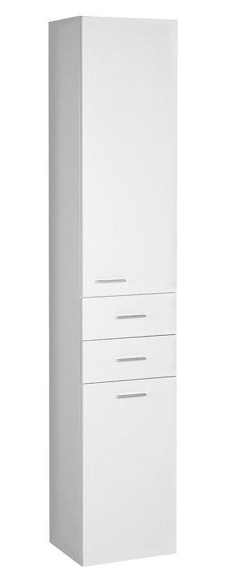ZOJA/KERAMIA FRESH skříňka vysoká s košem 35x184x29cm, bílá