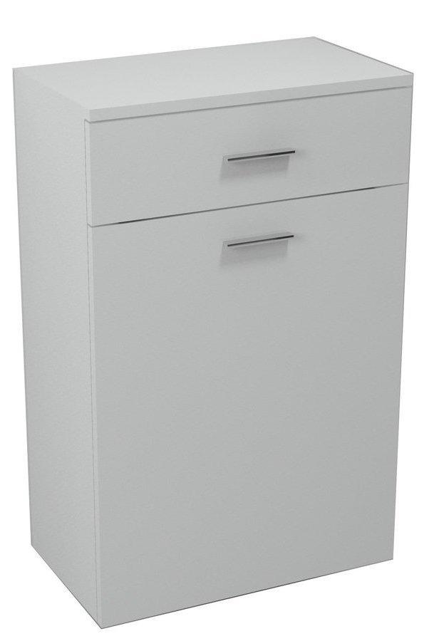 ZOJA/KERAMIA FRESH skříňka spodní s košem 50x78x29cm, bílá