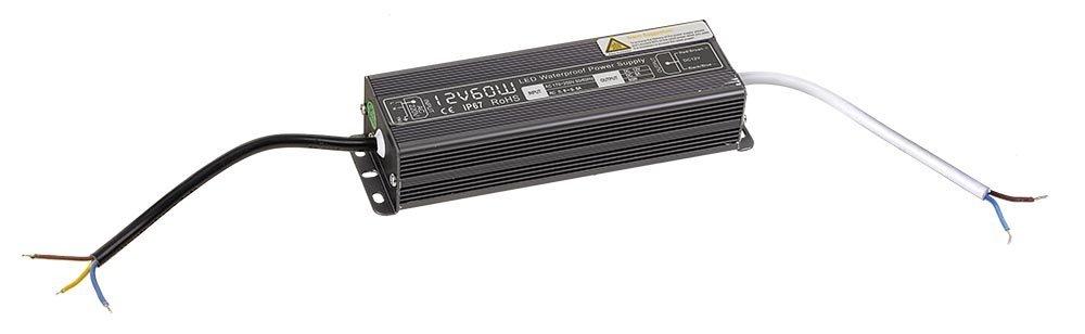 Napájecí zdroj 60W, 230/12V, vodotěsný, IP67