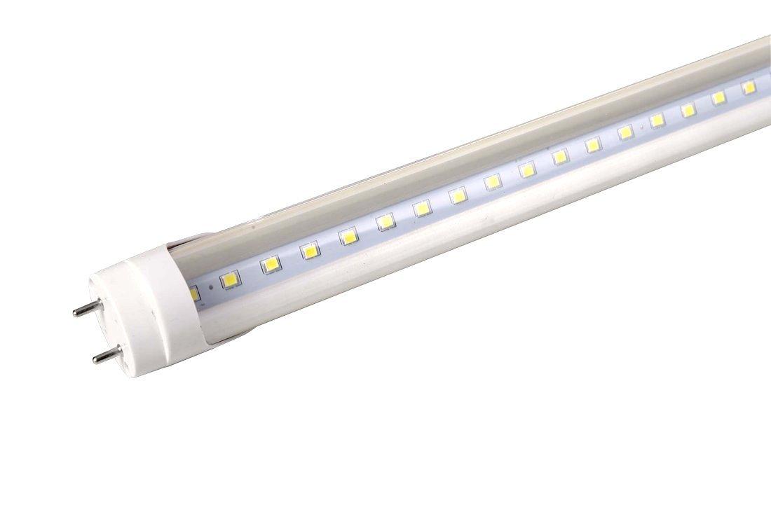 LED trubice 10W, 230V, 600mm, T8, studená bílá, čiré sklo, 835lm