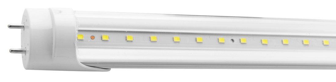 LED trubice 18W, 230V, 1200mm, T8, studená bílá, čiré sklo, 1605lm