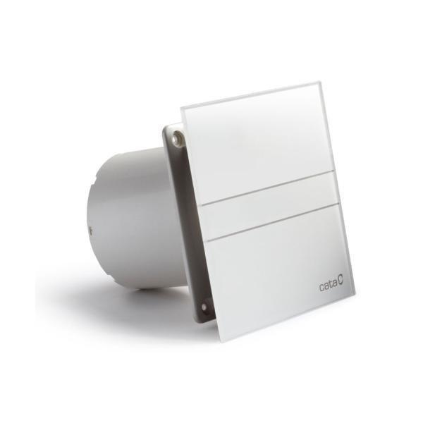 E-100 GT koupelnový ventilátor axiální s časovačem, 8W, potrubí 100mm, bílá