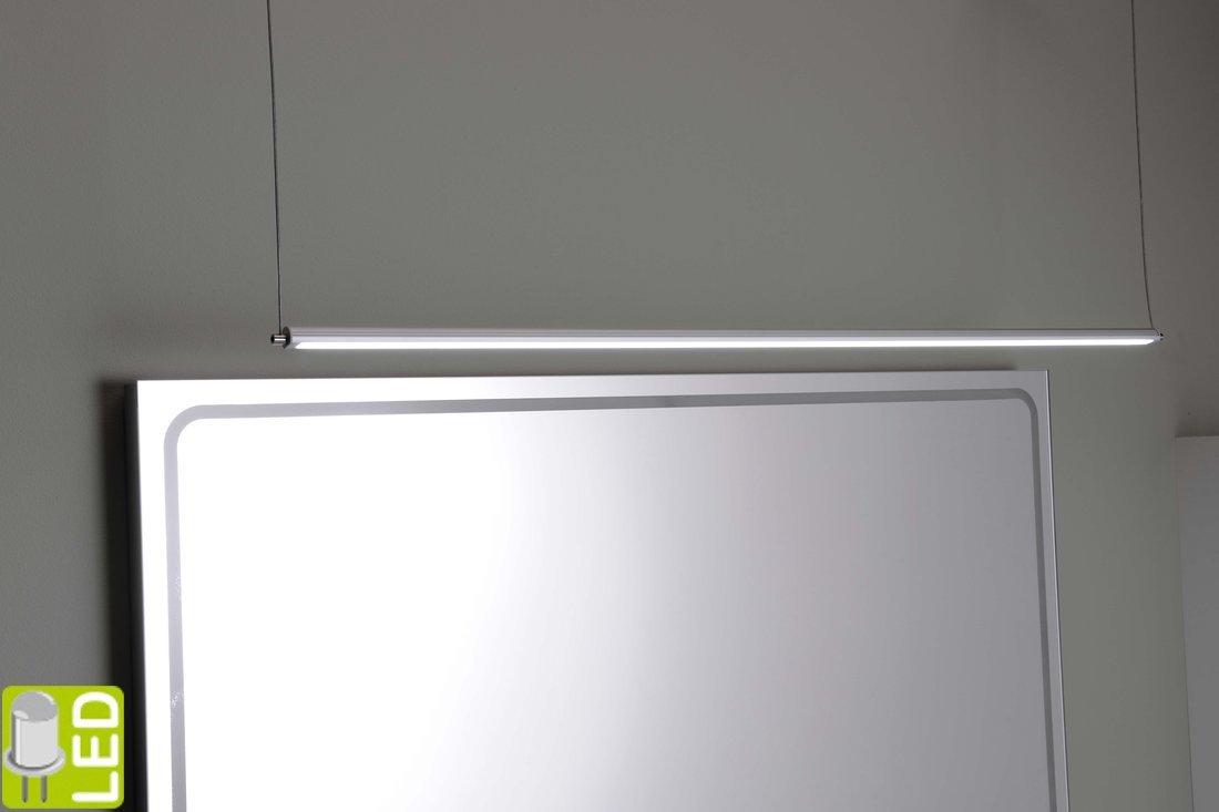 FROMT TOUCHLESS LED závěsné svítidlo 77cm 12W, bezdotykový sensor, hliník