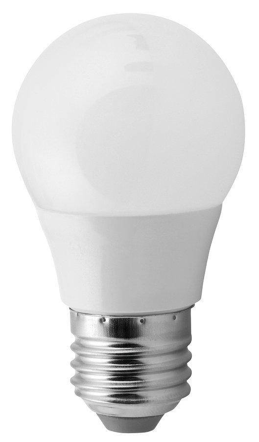 LED žárovka 5W, E27, 230V, teplá bílá, 380lm