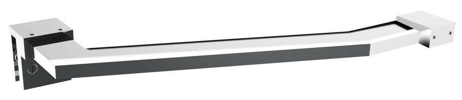 DRAGON vzpěra k zástěnám 300x150mm, chrom