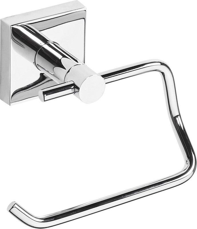 X-SQUARE držák toaletního papíru bez krytu, 135x100x90 mm, chrom