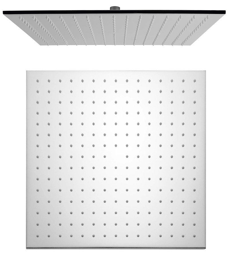 Hlavová sprcha, 400x400mm, chrom