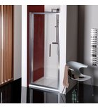 Photo: LUCIS LINE Folding Shower Door 900mm, clear glass