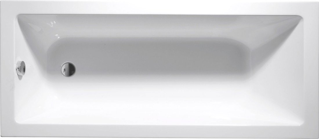 DOUBRAVA obdélníková vana 160x70x42cm, bílá