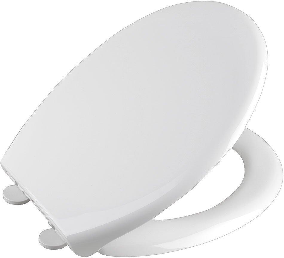 SOFIA WC sedátko, Soft Close, polypropylen, bílá