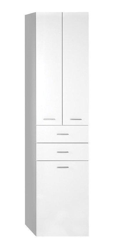 ZOJA/KERAMIA FRESH skříňka vysoká s košem 50x184x29cm, bílá