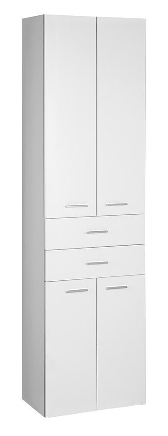 ZOJA/KERAMIA FRESH skříňka vysoká se zásuvkami 50x184x29cm, bílá