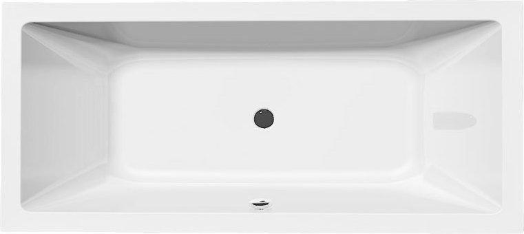 NISA obdélníková vana 180x80x42cm, bílá