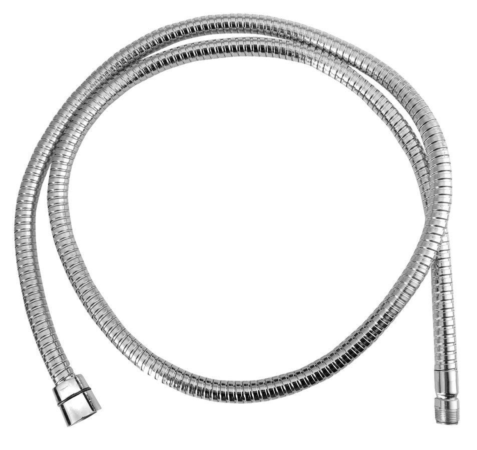Sprchová hadice pro výsuvné sprchy z vany, F1/2'- M15x1,150 cm, chrom