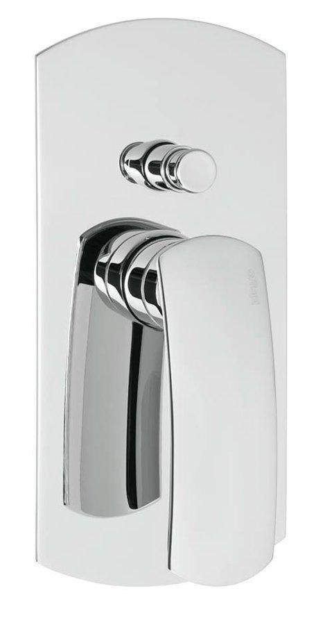 FLO podomítková sprchová baterie, 2 výstupy, chrom