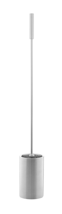 WC štětka, dlouhá rukojeť 66cm, kovová