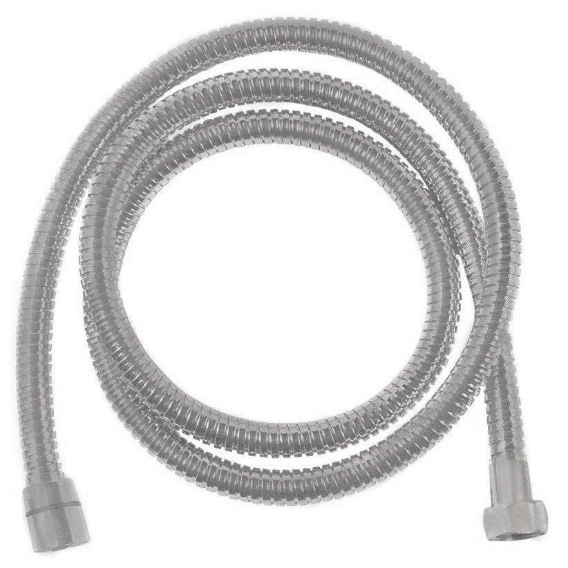 Kovová sprchová hadice, opletená, 175 cm, nikl