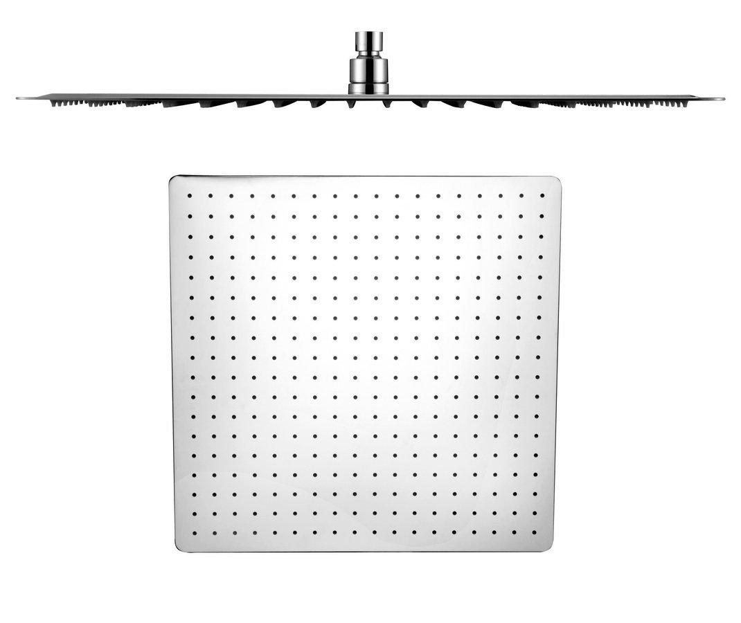 SLIM hlavová sprcha, čtverec 500x500mm, leštěný nerez