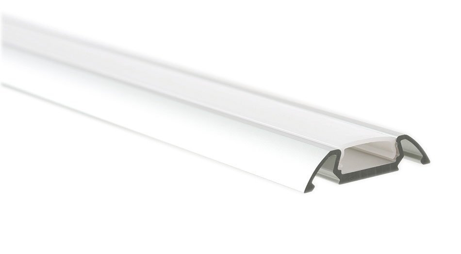LED U profil 30x7mm, eloxovaný hliník, 2m