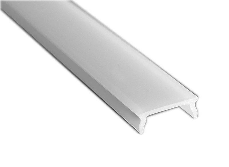 Mléčný kryt LED profilu KL4369, 2m