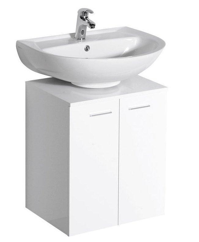 DINO skříňka pod umyvadlo 50x30x50cm, bílá