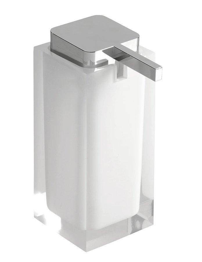 RAINBOW dávkovač mýdla na postavení, bílá