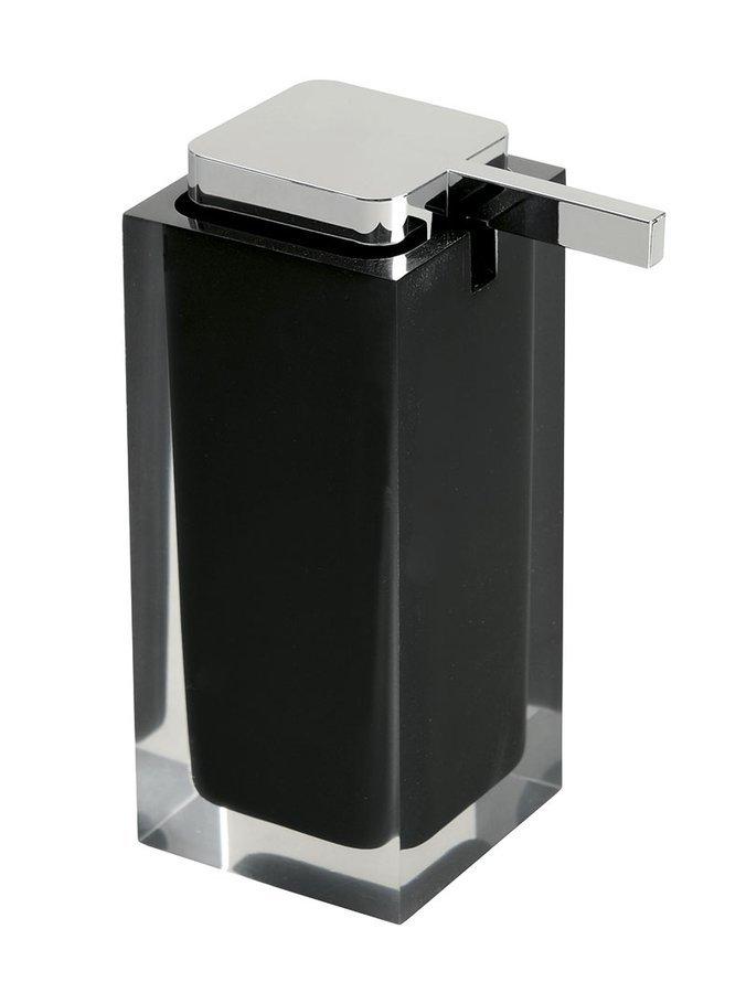 RAINBOW dávkovač mýdla na postavení, černá