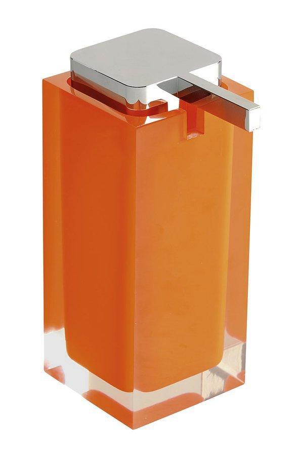 RAINBOW dávkovač mýdla na postavení, oranžová