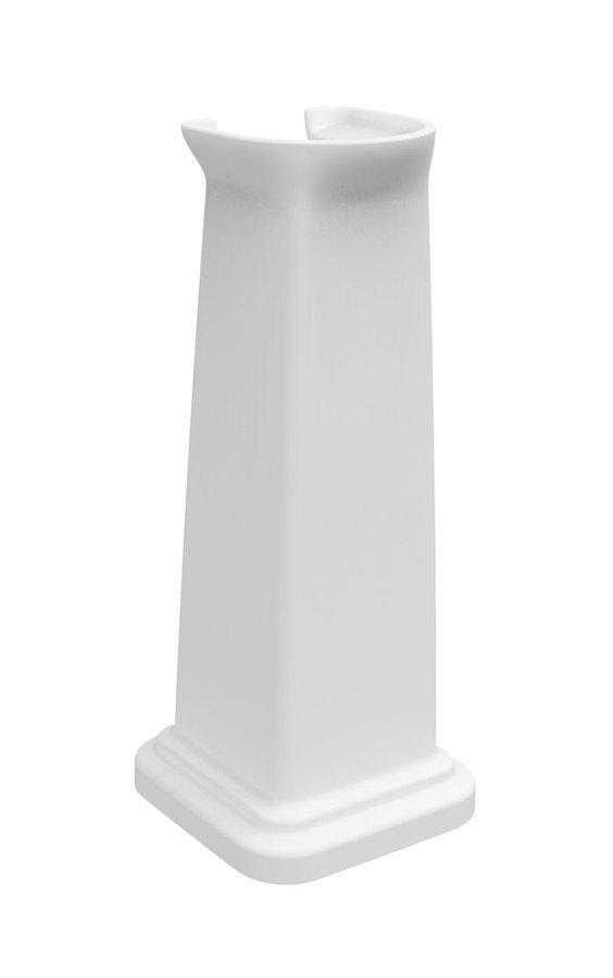 CLASSIC keramický sloup k umyvadlu 66x27 cm, bílá ExtraGlaze