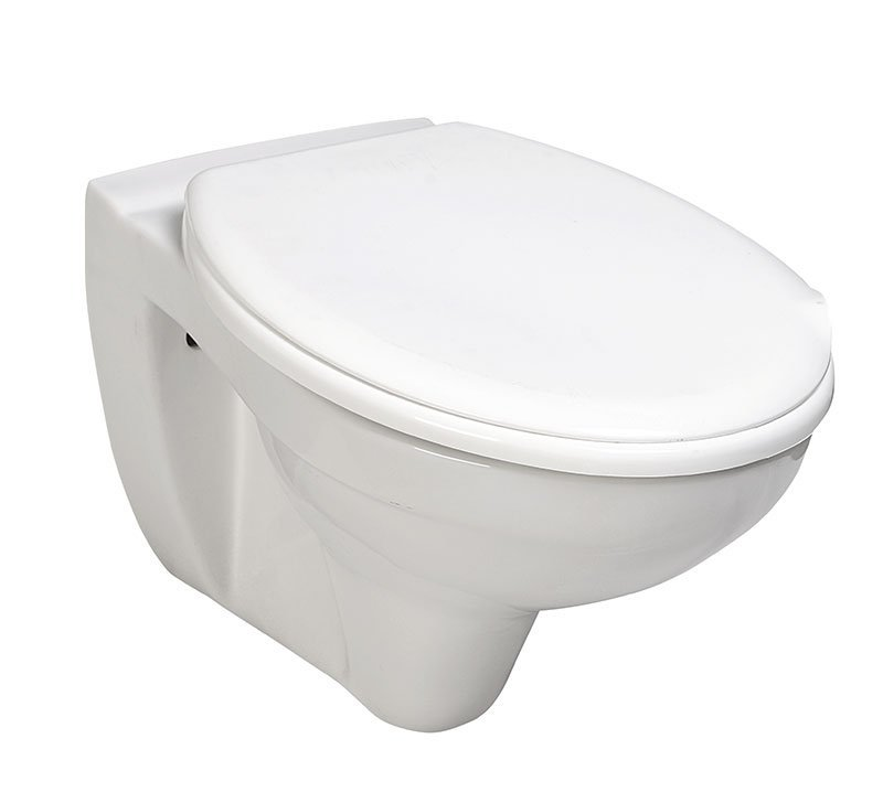 TAURUS závěsná WC mísa, 36x54,5cm, bílá