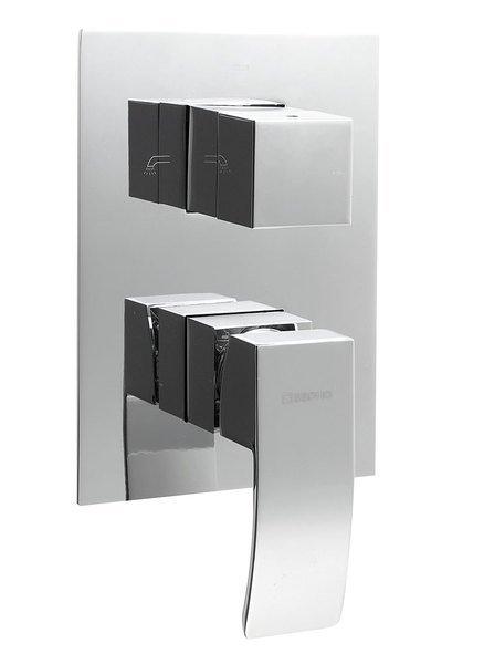 GINKO podomítková sprchová baterie, 3 výstupy, chrom