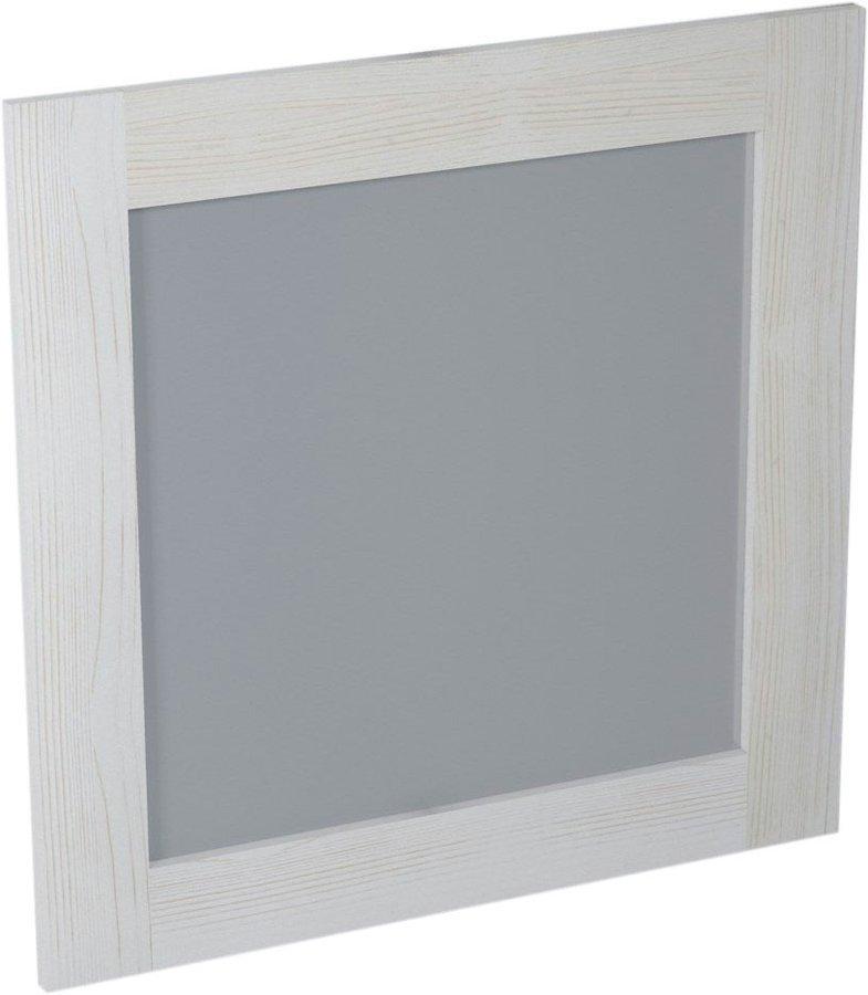 BRAND zrcadlo 800x800x20mm, starobílá