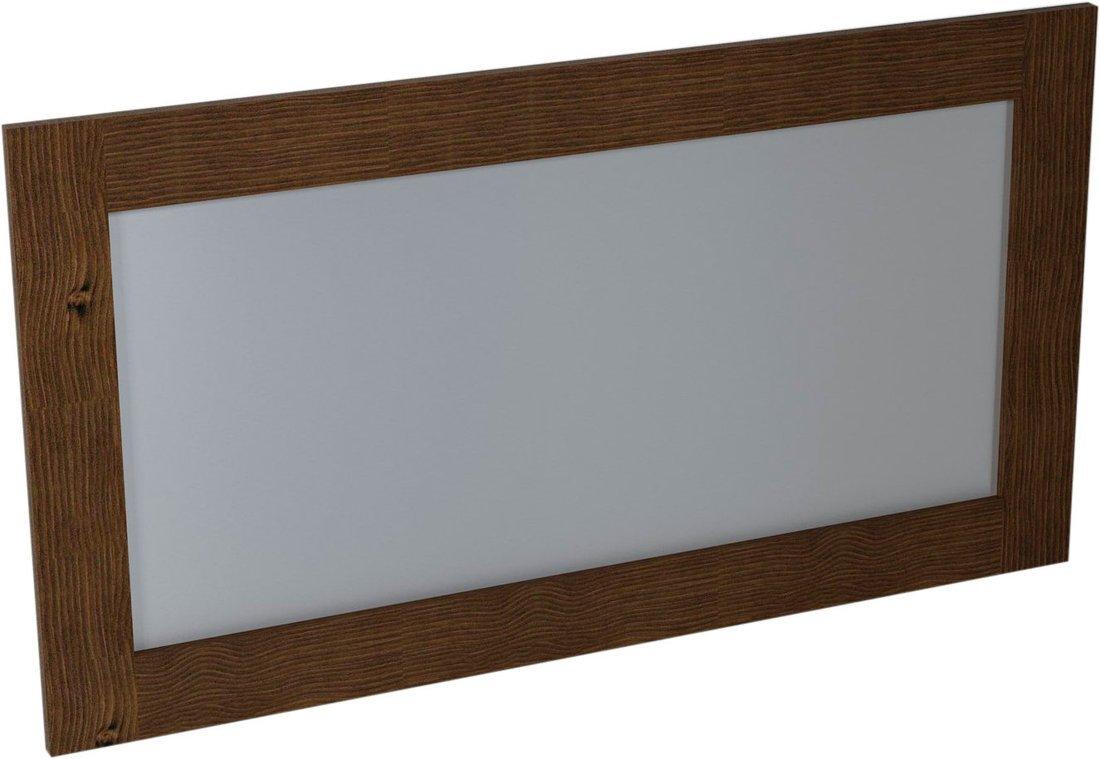 BRAND zrcadlo 1300x700x20mm, mořený smrk