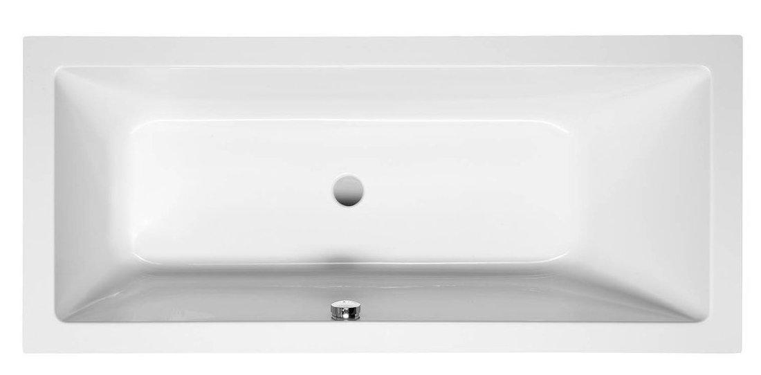 NISA obdélníková vana 170x75x42cm, bílá