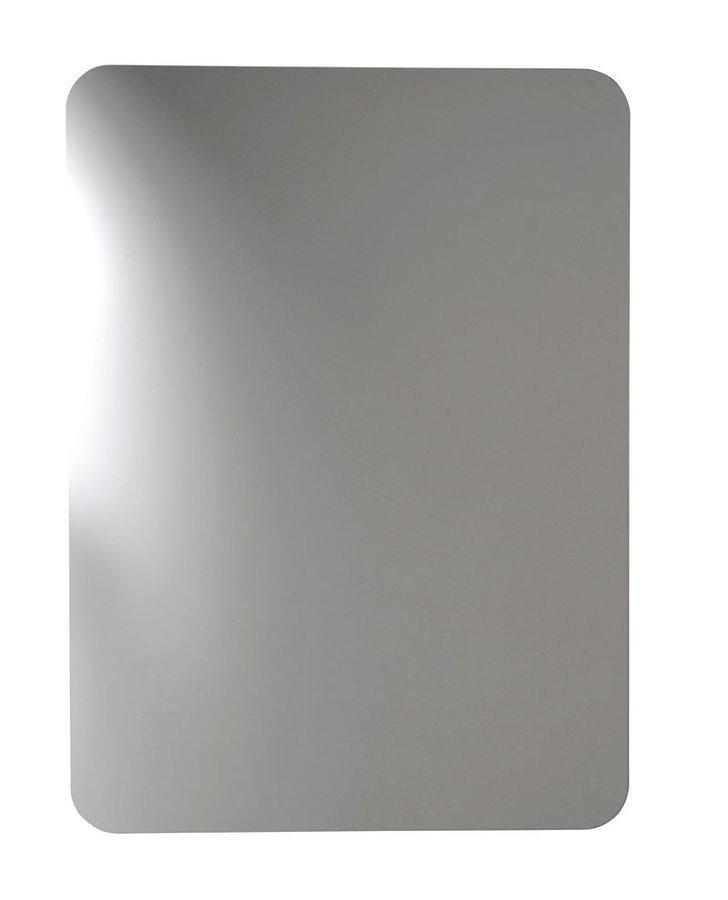 ISHAPE zrcadlo 500x900mm, zakulacené rohy, bez úchytu