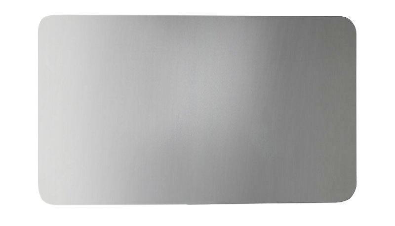ISHAPE zrcadlo 1000x500mm, zakulacené rohy, bez úchytu