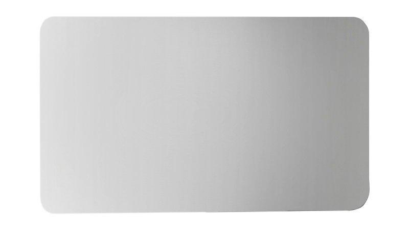 ISHAPE zrcadlo 1200x600mm, zakulacené rohy, bez úchytu