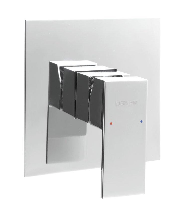 LATUS podomítková sprchová baterie, 1 výstup, chrom