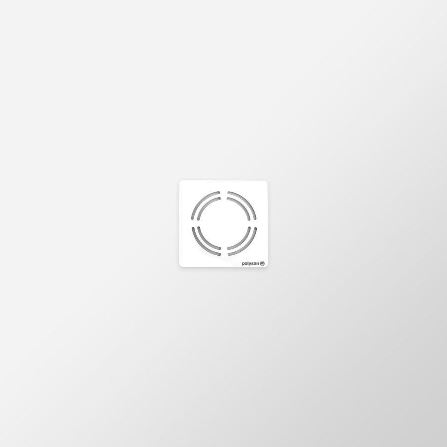 FLEXIA vanička z litého mramoru s možností úpravy rozměru, 90x90x3cm