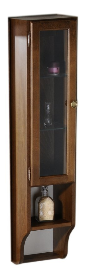 RETRO skříňka k zrcadlu 25x115x20cm, buk, levá