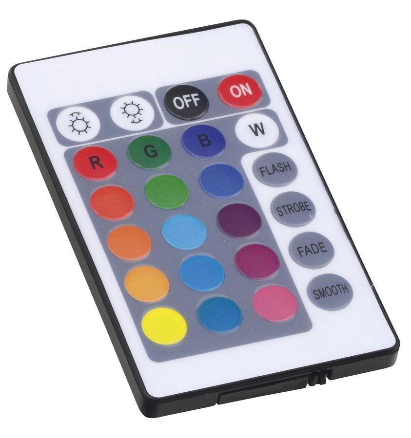 Řídící jednotka RGB s IR dálkovým ovladačem